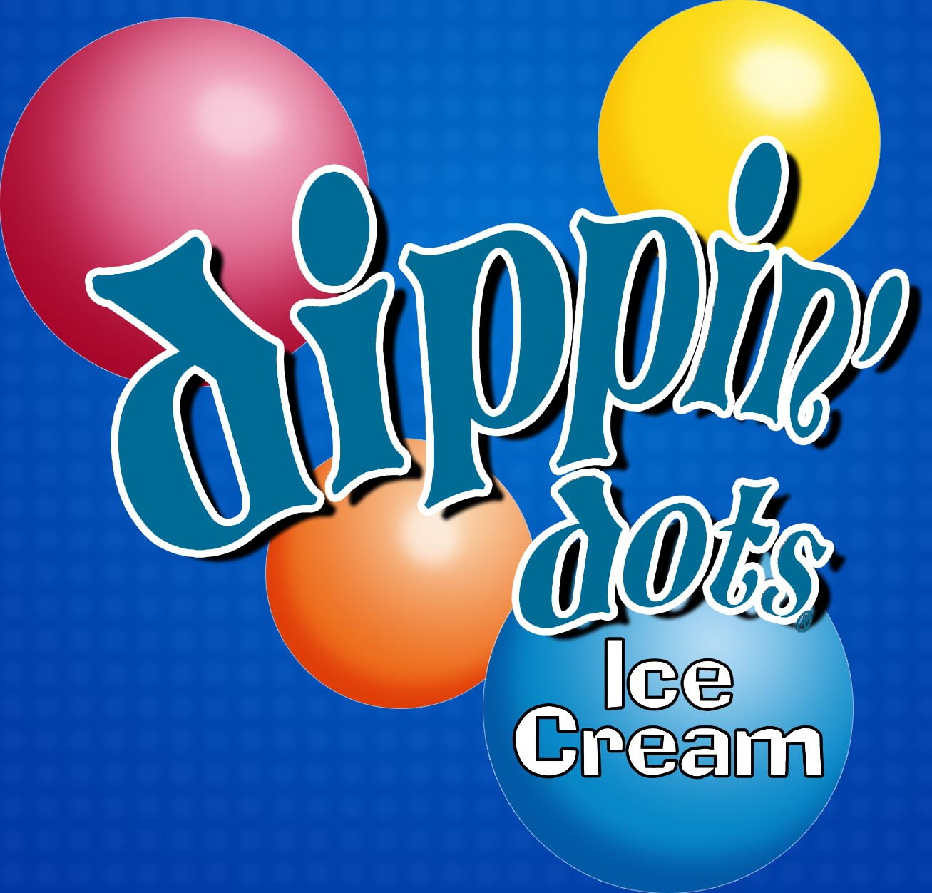 Dippin Dots logo custom web