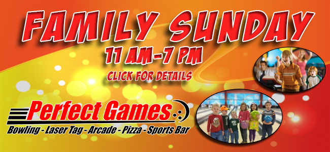 Perfect Games, Bowling, Laser Tag, Arcade - Home